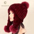 Новые приходят чистый белый женская теплая шерсть шляпа шапки