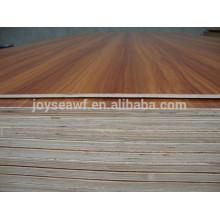 Peuplier mélangé avec du contreplaqué en mélamine hpl en bois dur