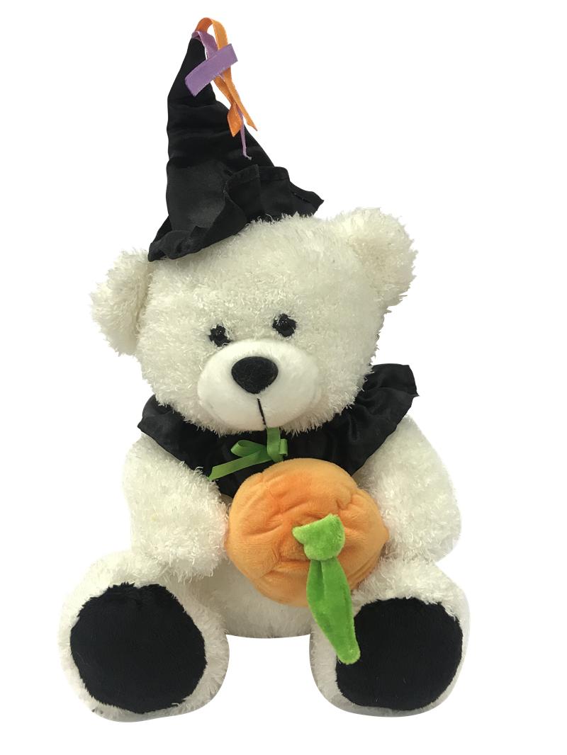 Plush Bear Halloween Witch
