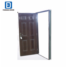steel doors with knock down frame for Nigeria