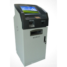 15inch Customize Hospital Use Kiosk Manufacturer, Kiosk with Photo Printing Function