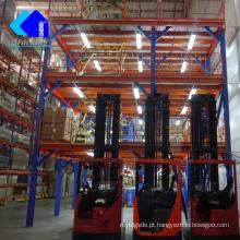 Plataformas de armazenamento levantadas, mezanino móvel do armazém do suporte da ferramenta dos espanadores e plataforma