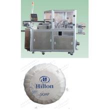 Máquina automática del embalaje del jabón del hotel redondo de la plisada