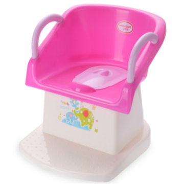 Plastic Infant Potty Chair WC-Sitz mit Armlehne