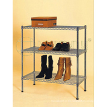 Ajustable japonesa de metal de calidad de metal Shoe Cabinet / Shoe Holder Rack (CJ-B1016)