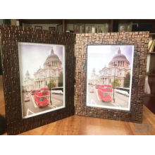 Customize modern folding frameless photo frame