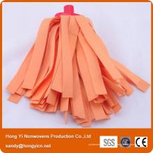 De Bonne Qualité Tête de vadrouille colorée multi de tissu non-tissée faite sur commande de taille