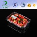 Da garatuja plástica barata do fruto do produto comestível do uso do mirtilo da morango parte superior de empacotamento