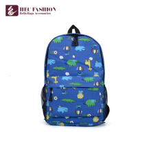 HEC China Brands Korean Fashion Blue Color Day Backpack