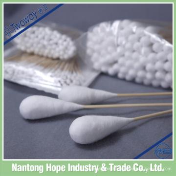 écouvillon en coton absorbant médical stérile