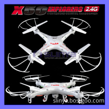 2.4G Remote Control Helicopter X5c -1 6 Axis Gyro Drone Quadcopter HD Camera X5 Syma Plane RC Model Toy Explorers (X5C)