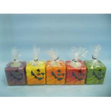 Artesanato de cerâmica de forma de vela de Halloween (LOE2372-C5z)