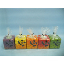 Хэллоуин свеча формы керамических ремесел (LOE2372C-5z)