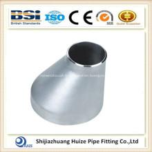 Réducteur excentrique soudé sanitaire SS316l en acier inoxydable