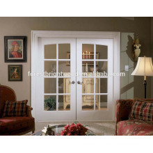 Forest Bright European Style Double Glass Doors , Common Arch Pair Double Glazed French Doors