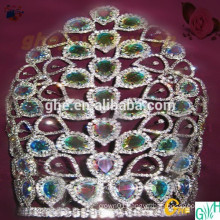 "12"" rhinestone wholesale pageant crown for sale"