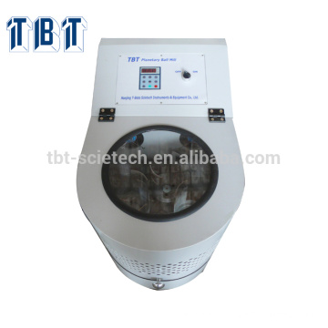 Micro High Speed Vibrating Planetary Ball Mill with Nylon / Stainless Steel / Polyethylene Lab Grinding Jar