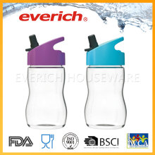 Cheap Plastic Bottle Supplier With Straw For Kids