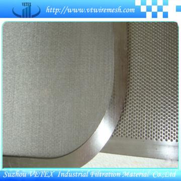 Malla de alambre sintetica de alta rigidez fina de alta intensidad