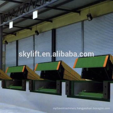 New equipment warehousing platform truck dock leveler