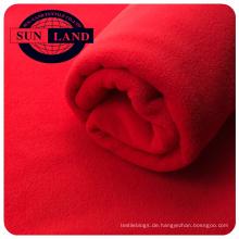 100% Polyester-Micro-Anti-Pilling-Warm-Polar-Fleece mit zwei Seiten für den Einsatz im Winter