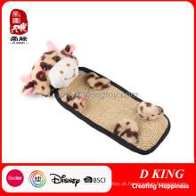Brinquedos macios feitos sob encomenda do animal de estimação do luxuoso