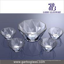 Tazón de fuente de cristal Tz5-GB16040 de la fruta 5PCS