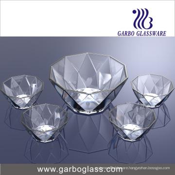 5PCS Glass Fruit Bowl Tz5-GB16040