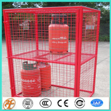 galvanized propane storage wire mesh cages