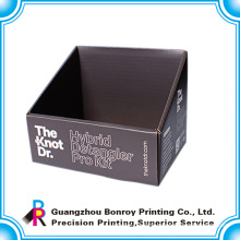 High end custom design paper counter display box for cosmetics