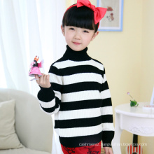 cheap christmas tight knitted kids pullover sweater for girl