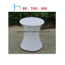 Мебель Белая Плетеная Круглая Отдыха Сада Стула (7438)