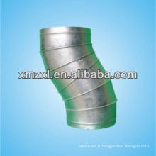 Raccords en acier inoxydable presse 30, 45, 60,90 degré conduit Bend