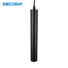 Suspension LED cylindrique