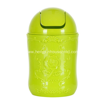 plastic household can with garbage oem sale hot product detail hotel lid trash swing pp rectangle bin