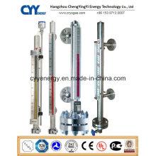 Cyybm58 Magnetische Füllstandsmessgerät für kryogene Tanks