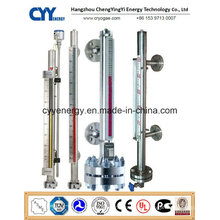 Cyybm58 Magnetic Level Meter for Cryogenic Tanks