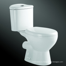 Керамический Пол, Смонтированный Из Двух Частей Туалет Туалет Экономии Воды