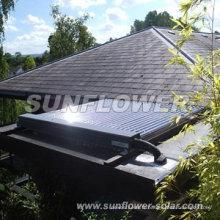 Eau chaude solaire à panneau plat (CHAUFFE-EAU SOLAIRE, ISO9001, KEYMARK SOLAIRE, CE, SRCC, EN12975)