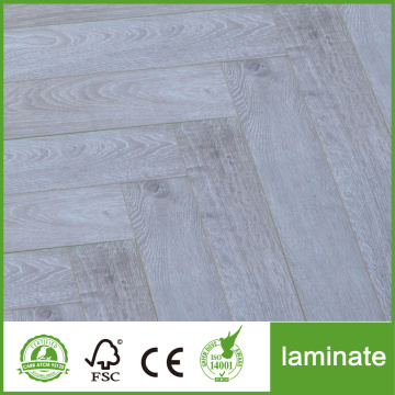 12mm HDF Herringbone Laminate Wooden Flooring