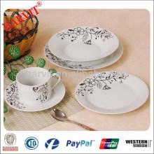 Ensemble de dîner en porcelaine ronde A Grade