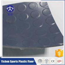 Plancher homogène de PVC de garage extérieur