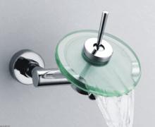 浴槽ガラス滝シャワー水栓 (S-012 C)