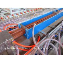 Doppelschneckenextruder WPC Profil Extrusion Maschine