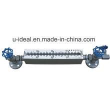 Calibre de nivel del tubo de cristal del cuarzo (GZS)