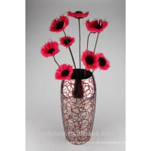 2016 Nuevo vaso de flores moderno abstracto del acero inoxidable hecho en China