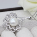 New Design 10-11MM Freshwater Pearl Pendant with Necklace