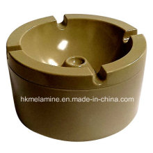 Round Melamine Windproof Ashtray with Lid (AT5886)