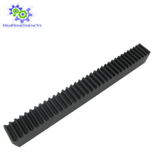 1.5 módulo rack de engranajes helicoidales en stock para máquina CNC