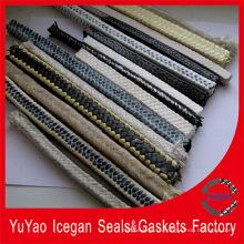 Детали двигателя Карбонизированное волокно Плетеная упаковка / Карбонизированное волокно Плетеный сальник Упаковка
